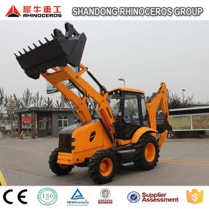 Backhoe Loader Dubai 8ton Lawn Tractor Backhoe Loader pictures & photos