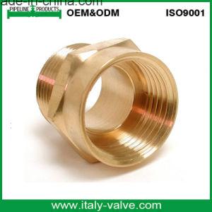 Made in China Quality Brass Hose Coupling/Pipe Fittings (AV9028) pictures & photos