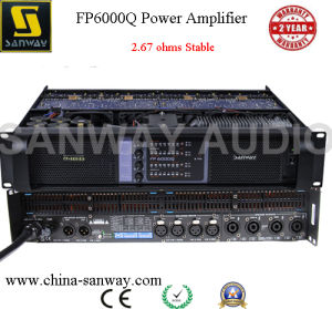 High Power 4 Channel Power Amplifier Sound Standard for Church pictures & photos