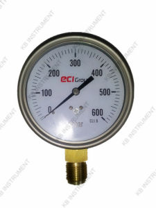 "4"" Capsule Pressure Gauge Stainless Steel Case pictures & photos"
