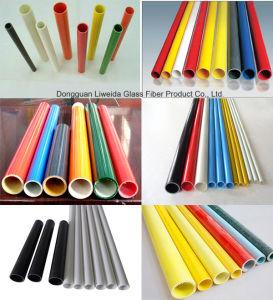 Acid and Alkali Resistant Fiberglass Tube/Pipe, FRP Tube/Pole