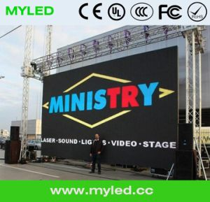 Outdoor Eazy Installation Rental Die Casting Full Color LED Display Screen pictures & photos