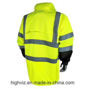 Reflective Safety Rainwear with ANSI107 Certificate (RW-002) pictures & photos