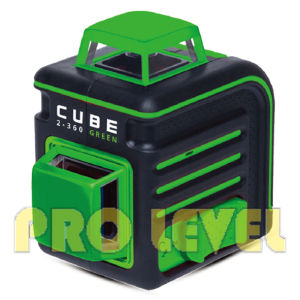 Cube 2-360 Green Line Laser Level pictures & photos