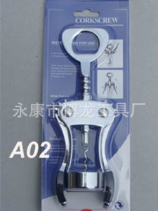 Zinc Alloy Red Wine Bottle Opener (HA38015) pictures & photos