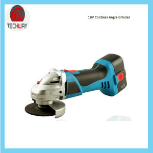 18V Ni-CAD Battery Cordless Angle Grinder pictures & photos