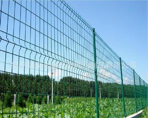 Double Wire Mesh Fence Edges
