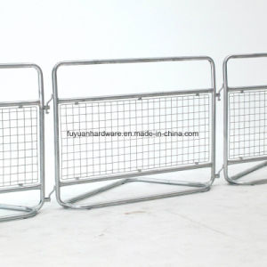 Europen Police Used Heavy Duty Steel Traffic Barrier pictures & photos