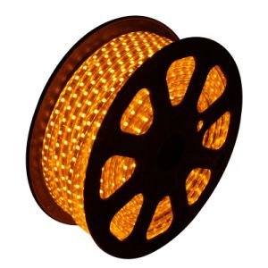 3528 220V LED Strip with Waterproof (orange)