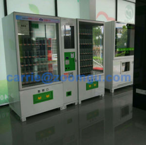 Combo Advertising Screen Vending Machine with Conveyor Belt 10L+10RS (32SP) pictures & photos