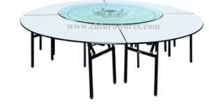 Plywood Restaurant Dining Folding Table (YC6005) pictures & photos