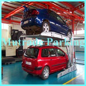 Tilt Car Parking Lifts Two Post Automotive Garage pictures & photos