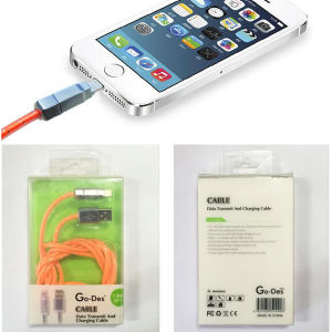 Data Transmit and Charging Cable for iPhone, Lightning USB Cable pictures & photos