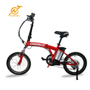 2017 New Model 20inch 250W 36V Hidden Battery Folding Electric Bike/Foldable Electric Bicycle pictures & photos