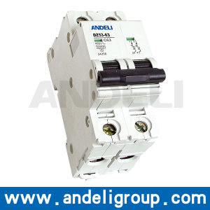 63A MCB Miniature Circuit Breaker (DZ53-63) pictures & photos