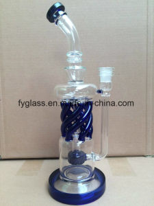 2017 New Glass Smoking Pipe with Functional Tubes pictures & photos
