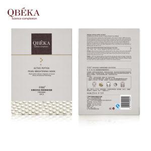 QBEKA natural pearl whitening mask whitening moisturizing silk face mask pictures & photos