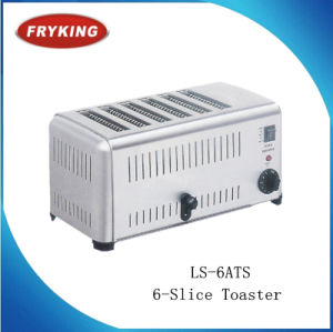 Hot Sale Stainless Steel Commercial Toaster with 4-Slice pictures & photos