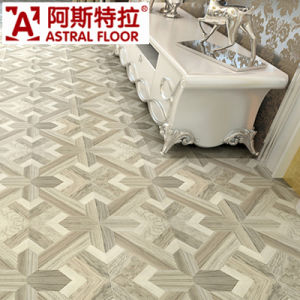 Single Click System 12mm Parquet Laminate Flooring pictures & photos
