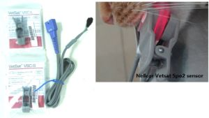 Transport Animal Vet ECG EKG NIBP Monitor Veterinary Monitor with FDA Veterinary pictures & photos