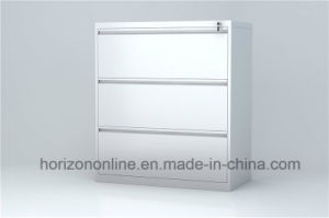 Steel Lateral Storage Cabinet with Three Ball Bearing Rail pictures & photos