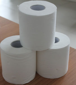 Toilet Tissue Roll Virgin Pulp, Premium Virgin Tissue Paper pictures & photos