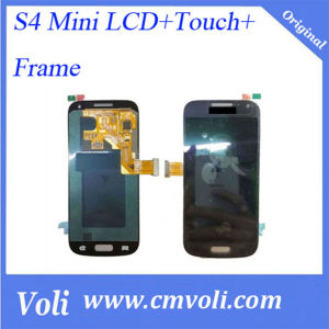Original LCD and Digitizer Assembly for Samsung Galaxy S4 Mini I9195 with Frame and All Small Parts pictures & photos