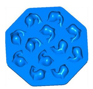 Durable Shaped Custom Silicone Ice Cube Tray pictures & photos