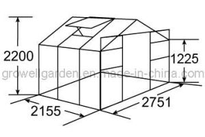 Hobby Greenhouse for Plants and Flowers (B907) pictures & photos