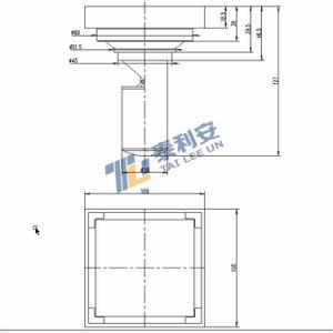 Bathroom Accessories Floor Drain Square Top (T1059) pictures & photos