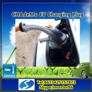 Level 3 Portable EV Fast Charging Station with CCS Connector pictures & photos