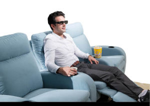 Home Theater Fabric Sofa 796# pictures & photos