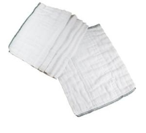 Baby Cotton Diapers, Prefold Cloth Diapers