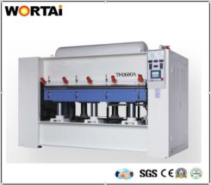 Solid Wood Single Plate Positive and Negative Pressure Surface Press Machine pictures & photos