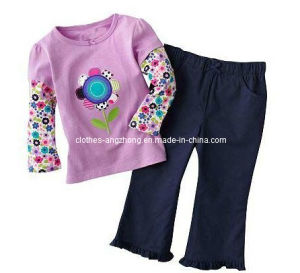 2013 Fashion Children Clothing Set, Girl Clothing
