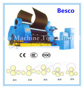 4-Roller Rolling Machine with Rolled Beam, Hydraulic System pictures & photos