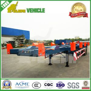Bogie Suspension Axle Container Terminal Semi Trailer pictures & photos