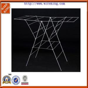 Folding Bathroom Fittings Wire Garment Towel Drying Rack (WK120570-2)