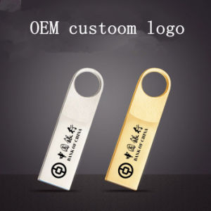 USB Flash Drive Metal Waterproof OEM Custoom Logo USB Stick Pendrives Flash Disk USB Memory Card USB Flash Drive Thumb Memory Stick pictures & photos