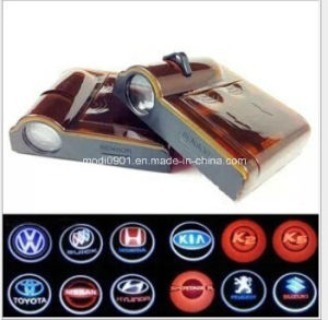 10th Car Leddoor Light LED Car Door Logo Projector Ghost Shadow Light LED pictures & photos