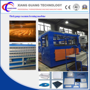 Thick Sheet Vacuum Forming Plastic Thermoforming Machine Exporter pictures & photos