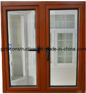 Single Glass Aluminum Casement Window for Africa Market pictures & photos