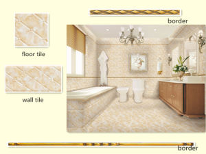 Bedroom Beige Ceramic Wall Tile and Border pictures & photos