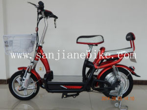Cute 48V Comfortable Brushless Electric Bicycle with En15194 Certification/ E-Bike (SJEBCTB-033)
