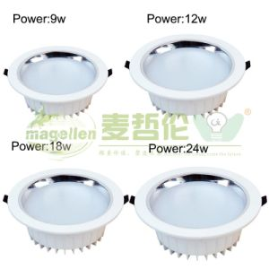 3W 5W 9W 12W 21W 30W Adjustable LED Downlight pictures & photos