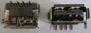 USB a Type Female Short Body DIP, Standard Type USB 2.0 Connectors pictures & photos
