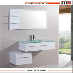 French Bathroom Furniture/Lacquer Bathroom Vanity/Solid Wooden Bathroom Cabinet (T9014) pictures & photos