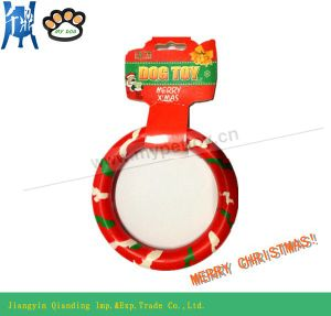 Hot Selling! Rubber Ring Dog Toys (Christmas Gift) pictures & photos