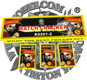 No 1 Match Cracker Two Bangs Triton Fireworks pictures & photos