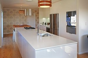 Lacquer Ready Made Kitchen Cabinets pictures & photos